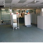 Alpine Accessories store is packed up before remodeling