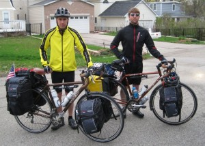 Mike and Jim Bike for Homes