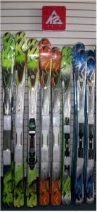 K2 Mens 2012 skis
