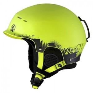K2 Rant Pro Ski Snowboard Helmet in Lime