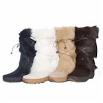 Real Fur Boots | Furry Boots from Italy