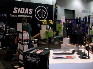 Thermic ski boot heaters shown at the 2013 SIA Snow Show