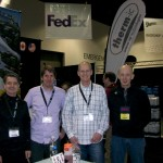 Rick from Alpine Accessories met with Therm-IC Staff at SIA Snow Show 2014