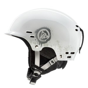 K2 Thrive ski helmet or snowboard helmet is has a hard shell construction with a low profile design.
