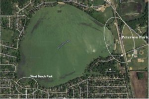 McCullom Lake Launch Areas