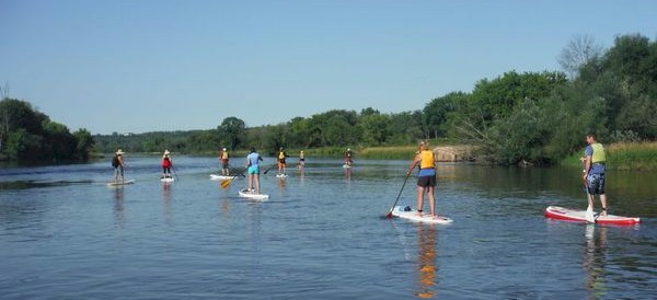 Fox Valley Paddleboarders group outing