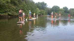 paddleboard on Fox River