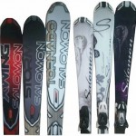 Salomon rocker skis
