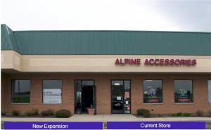 New Alpine Accessories Store Front