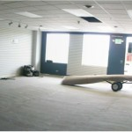 Ski shop gets new carpet