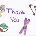 Girl Scout Thank You Card front