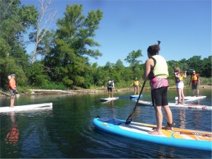 paddleboard instructor training