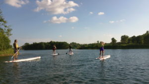 paddleboarding crystal lake il